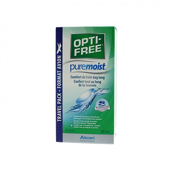Opti Free PureMoist Travel Pack 90ml